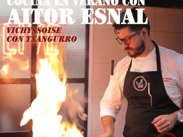 Cocina en verano con Aitor Esnal – Vichyssoise con txangurro (Onda Cero, 11-7-18)
