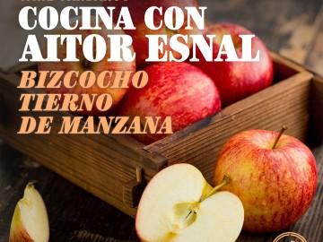 Cocina con Aitor Esnal: Bizcocho tierno de manzana (Onda Cero, 24-10-18)