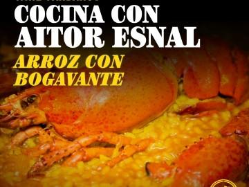Cocina con Aitor Esnal: Arroz con bogavante (Onda Cero, 31-10-18)