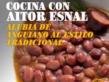 Cocina con Aitor Esnal – Alubias de Anguiano al estilo tradicional (Onda Cero, 16-01-19)