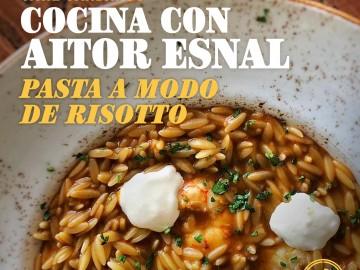 Cocina con Aitor Esnal – Pasta a modo de risotto (Onda Cero, 06-02-19)