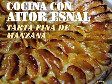 Cocina con Aitor Esnal – Tarta fina de manzana (Onda Cero, 13-02-19)