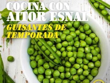 Cocina con Aitor Esnal – Guisantes de temporada (Onda Cero, 04-04-19)