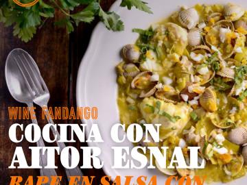 Cocina con Aitor Esnal – Rape en salsa con berberechos (Onda Cero, 04-12-19)