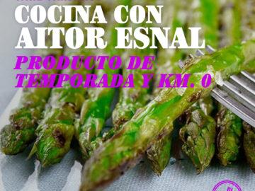 Cocina con Aitor Esnal – Producto de temporada y Km. 0 (Onda Cero, 08-04-20)
