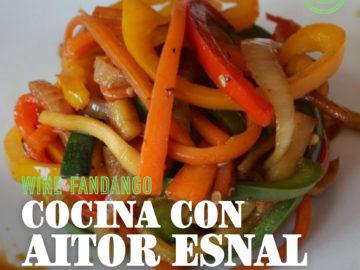 Cocina con Aitor Esnal – Verduras salteadas (Onda Cero, 13-05-20)